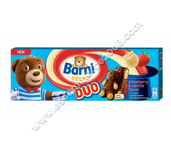 Barni strawberry & vanilla flavor 150 g