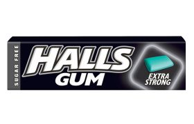Halls Gum Extra strong 14g