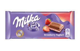 Milka Strawberry Youghurt 100 g