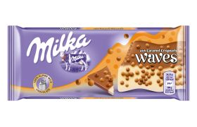 Milka Waves Caramel 81 g